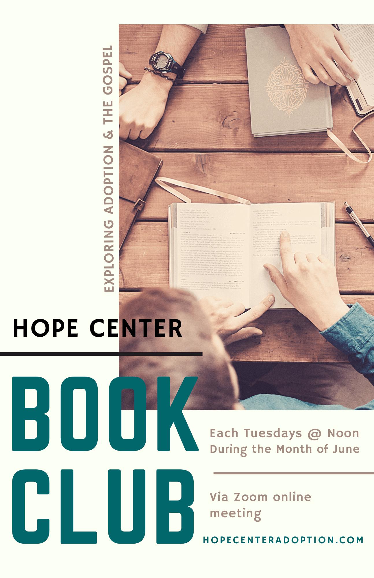 Book Club Flyer
